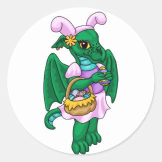 Easter Emerald Classic Round Sticker