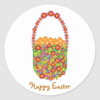 Easter gifts: The Golden Eggs Round Sticker