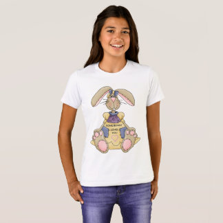 Easter Girl Bunny tee shirt