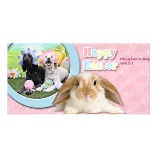 Easter - GoldenDoodles - Sadie and Izzie Card