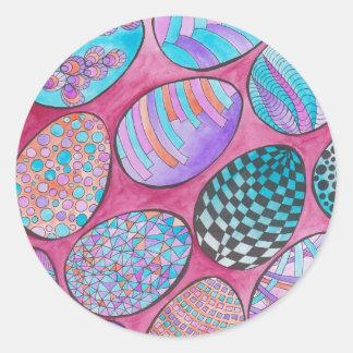 Easter GraphiZen Round Sticker