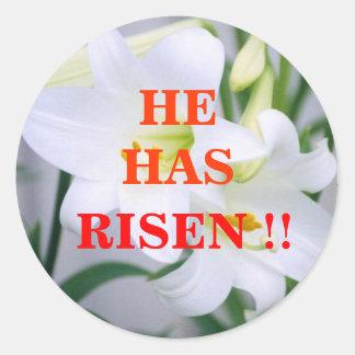 Easter lillie,Sticker
