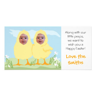 Easter Little Chicks - Photo Card