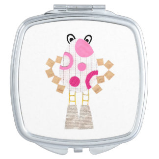 Easter Man Compact Mirror