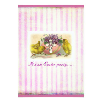 "Easter Miracle invitation 5"" X 7"" Invitation Card"