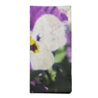 Easter Pansies Napkin