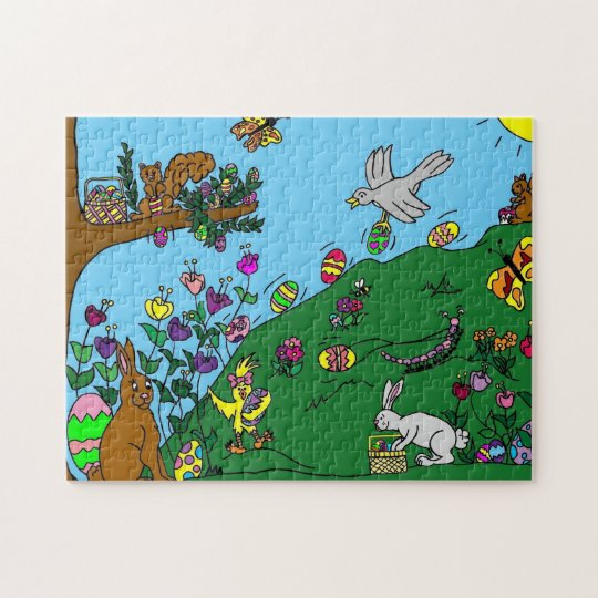 Easter Party Jigsaw Puzzle