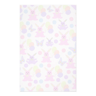 Easter Party Pattern Stationery