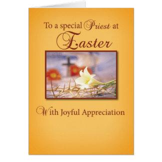 Easter Priest Appreciation Card