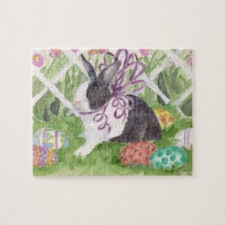 Easter Rabbit and Eggs Jigsaw Puzzle