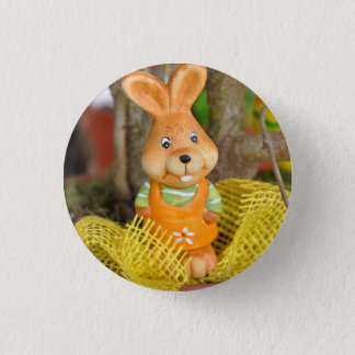 Easter Rabbit Bright Trinket 3 Cm Round Badge