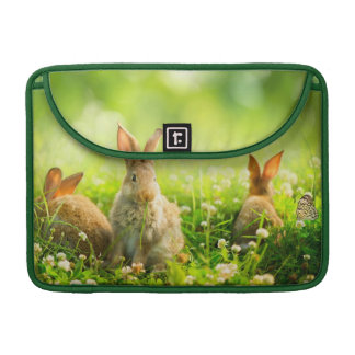 Easter Rabbits Sleeve For MacBook Pro
