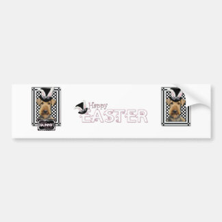 Easter - Some Bunny Loves You - Airedale Bumper Sticker