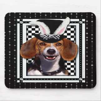 Easter - Some Bunny Loves You - Beagle Mouse Pad