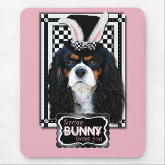 Easter - Some Bunny Loves You - Cavalier TriColor Mouse Pad