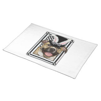 Easter - Some Bunny Loves You - Pitbull Placemat