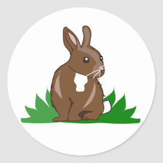 Easter Spring Rabbit Customizable Stickers