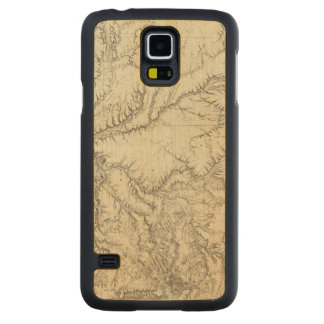 Eastern Arizona and Western New Mexico 2 Carved Maple Galaxy S5 Case