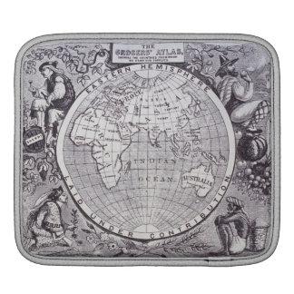 Eastern Hemisphere iPad Sleeve