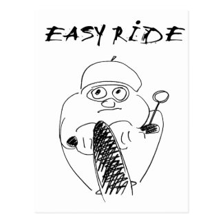 easy ride postcard