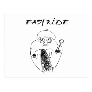 easy ride post card