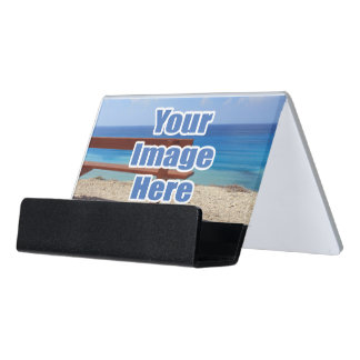 Easy To Create Personalized Desk Business Card Holder