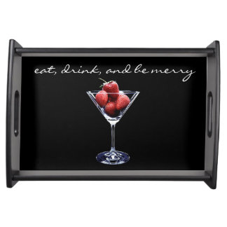 Eat, Drink, and Be Merry Serving Tray