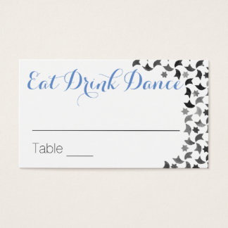 Eat Drink Dance | Name Cards & Marriage Tips