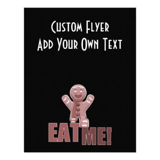EAT ME Gingerbread Man - Red Flyer
