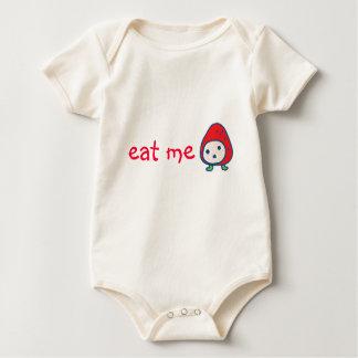 Eat Me! (strawberrry tamagotchi) Baby Bodysuit
