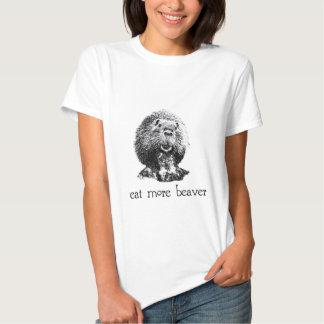 eat more beaver tshirt