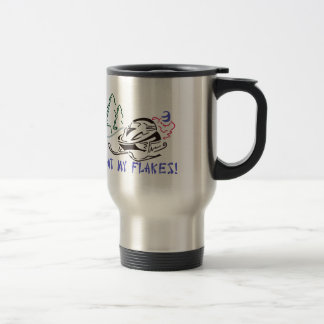 Eat My Flakes Travel Mug