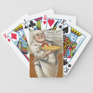 Eat Pie Bicycle Playing Cards