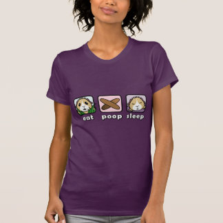 Eat Poop Sleep Guinea Pig Women's T-Shirt