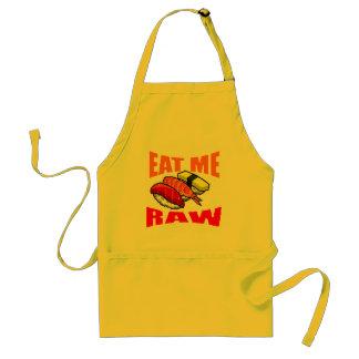 EAT RAW APRONS