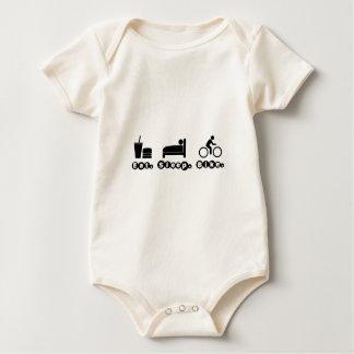 Eat. Sleep. Bike Baby Bodysuit