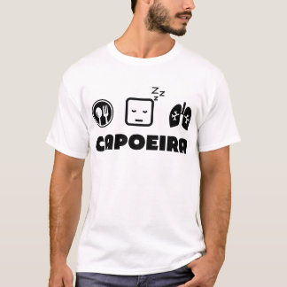 Eat Sleep Breathe Capoeira T-Shirt