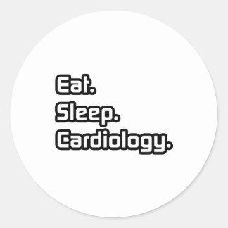 Eat. Sleep. Cardiology. Sticker