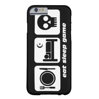 eat sleep game barely there iPhone 6 case