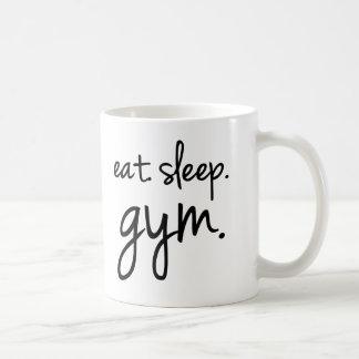 Eat Sleep Gym coffee mug