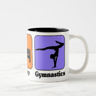 Eat Sleep Gymnastics mug