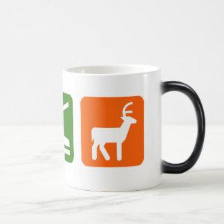 Eat Sleep Hunting 11 Oz Magic Heat Color-Changing Coffee Mug