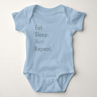 """""""Eat, Sleep, Repeat"""" Series - Baby Blue Bodysuit"""