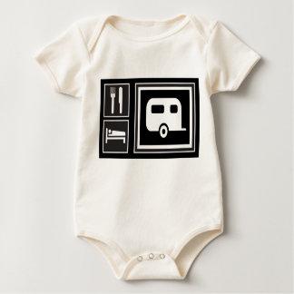 Eat. Sleep. RV! Baby Bodysuit