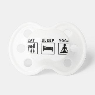 eat sleep yoga dummy