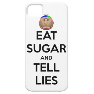 EAT SUGAR AND TELL LIES iPhone case