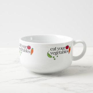 Eat Your Vegetables Soup Mug