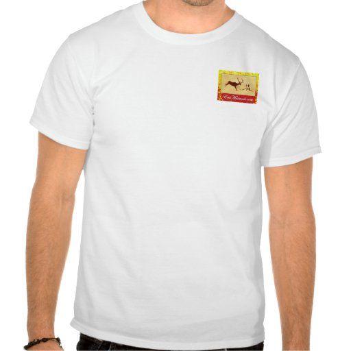 EatAnimals.com Autumn Logo Henley T-shirts