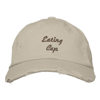 Eating Cap Embroidered Hats
