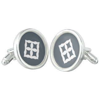 Eban | Adinkra Symbol of Love, Safety, Protection Cuff Links